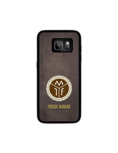 Mjøndalen Logo brun + ditt...